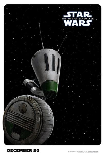 C-3P0, Чубакка, R2-D2 и все-все-все на новых постерах ленты «Звездные войны: Скайуокер. Восход»