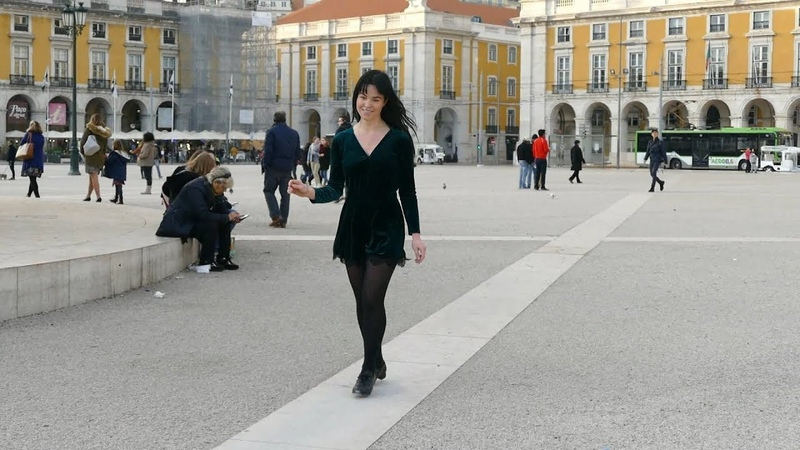 Irish Step Dancing em Lisboa Danse irlandaise à Lisbonne.