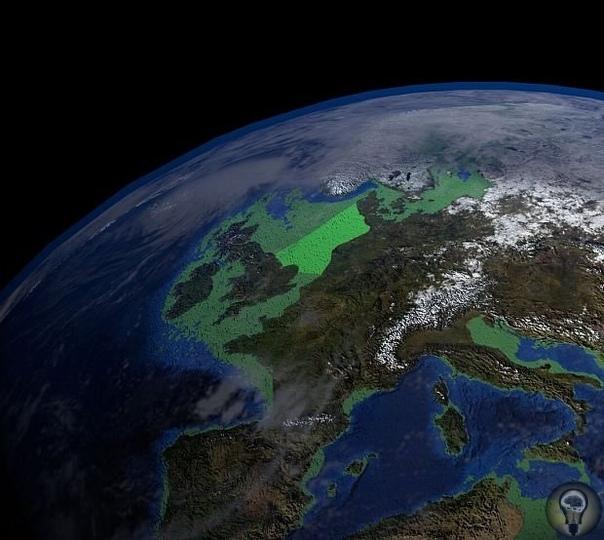 Подводный город, возрастом 8 тысяч лет в Северном море и версия об Атлантиде
