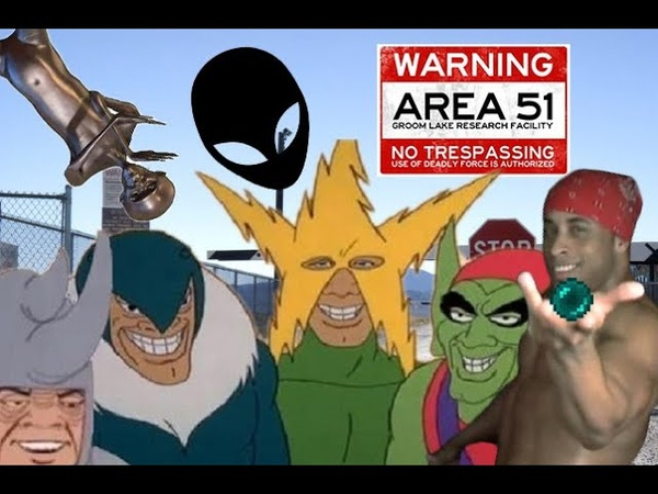 Me and the Boys Storming Area 51 (featuring Ricardo Milos)