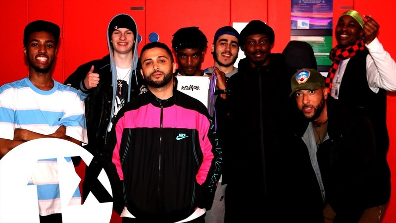 Oblig and friends Team Takeover for DJ Target on 1Xtra