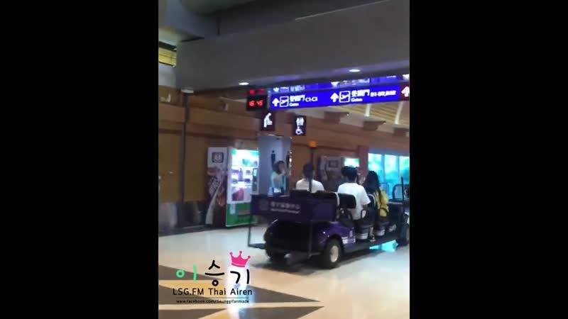 19 07 21 Lee Seung Gi Taoyuan Airport Fancams