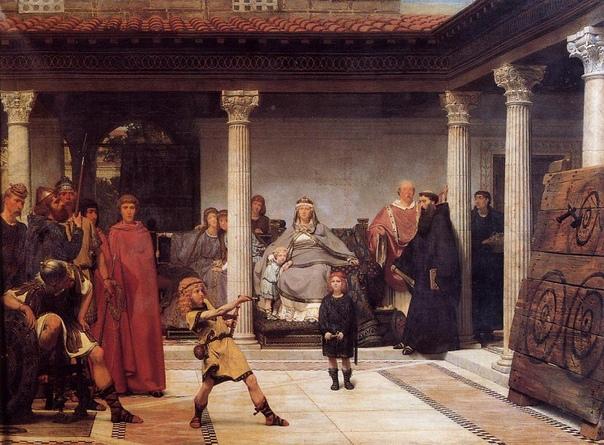 СЭР ЛОУРЕНС АЛЬМА ТАДЕМА. В семье деревенского нотариуса Питера Тадема, проживавшего в небольшом местечке Дронрейп, расположенного на севере Голландии, 8-го января 1836-го года появился шестой