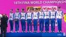 Российские синхронисты завоевали девять золотых медалей на чемпионате мира по водным видам спорта.