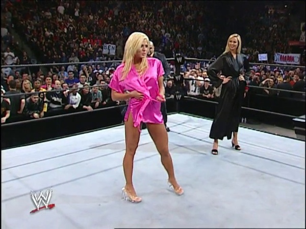 (720pHD) WWE SmackDown! 05.16.02 Torrie Wilson vs Stacy Keibler Trish Stratus