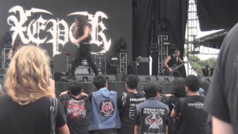 Xeper - Live at Jakarta's Hammersonic Festival 27th April, 2014