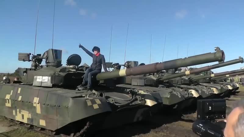Танк Оплот против Т-14 Армата