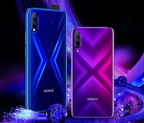 Официальный анонс Honor 9X и Honor 9X