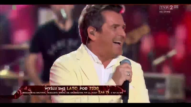 Thomas Anders Atlantis Is Calling S O S For Love Lato Muzyka Zabawa Wakacyjna Trasa Dwójki 21 07 2019 TVP2