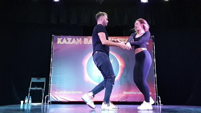 Kazan Bachata Festival Dario Díaz Sara Linaza 3 08 2019