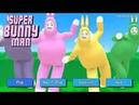 SUPER BUNNY MAN OPからメニュー画面まで