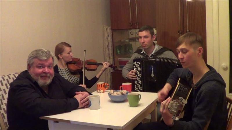 Премьера песни! Дмитрий Волгин Сударушка ( Баян А.Васин,Гитара Т.Кирин,Скрипка В.Кузнецова )