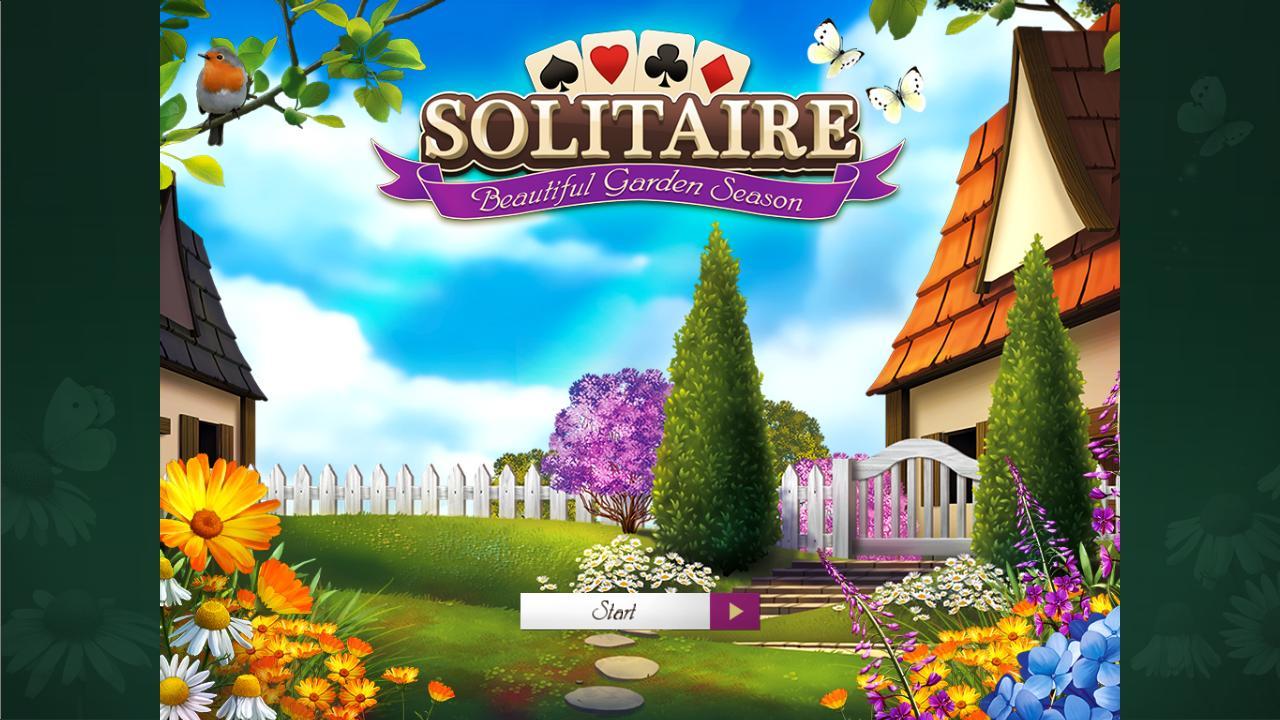 Пасьянс. Прекрасный садовый сезон | Solitaire: Beautiful Garden Season (En)