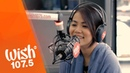 Juris sings A Love to Last A Lifetime LIVE on Wish 107.5 Bus