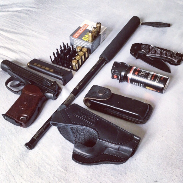 Вооружён, значит защищён! Что относят к оружию самообороны