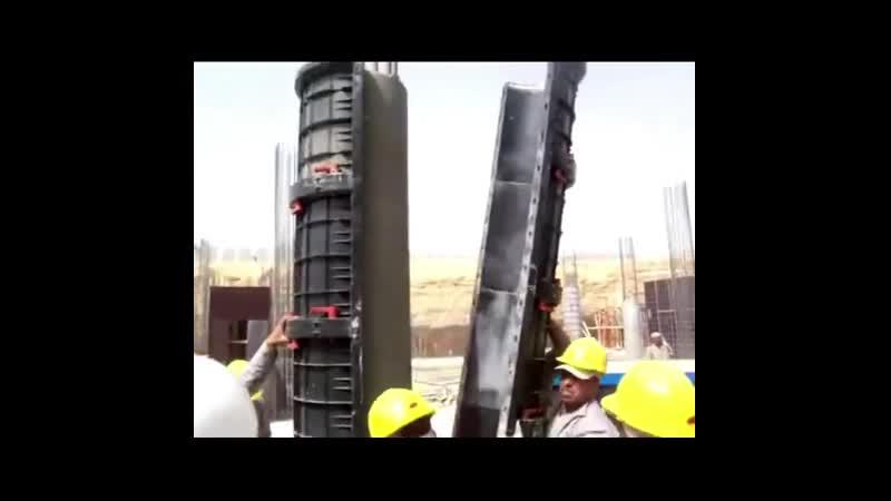 Формовка колонн Заметки строителя