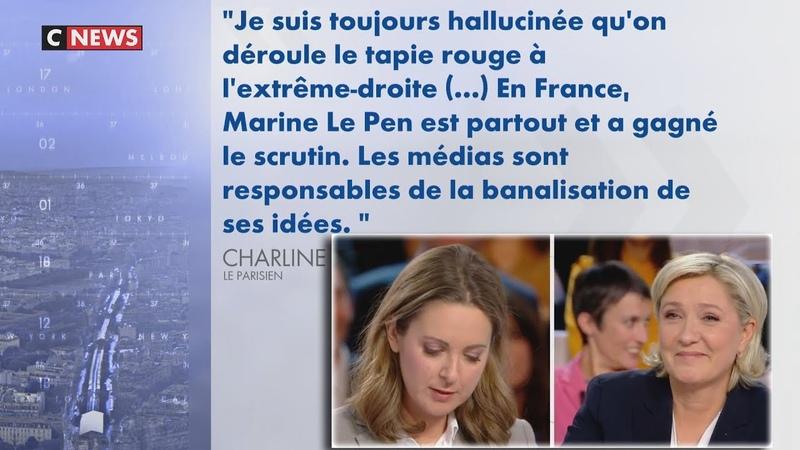 Praud : «Mais qui est Vanhœnacker pour distribuer ses bons points sur Marine Le Pen?» (25/06/19)