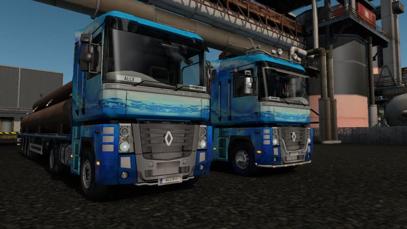 Euro Truck Simulator 2 Multiplayer 421