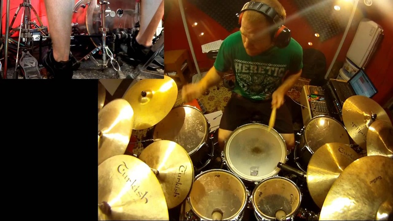 ★ Decapitated - Instinct [Drum Cover by Zack B ] ★