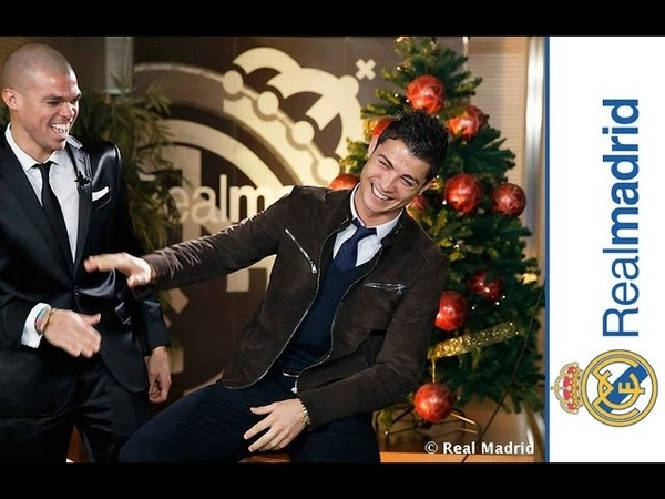 Tomas falsas Felicitación Navideña Real Madrid 2012
