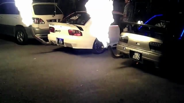 You need to see this Flame Throwers  @Blaze Motorsport Products shown