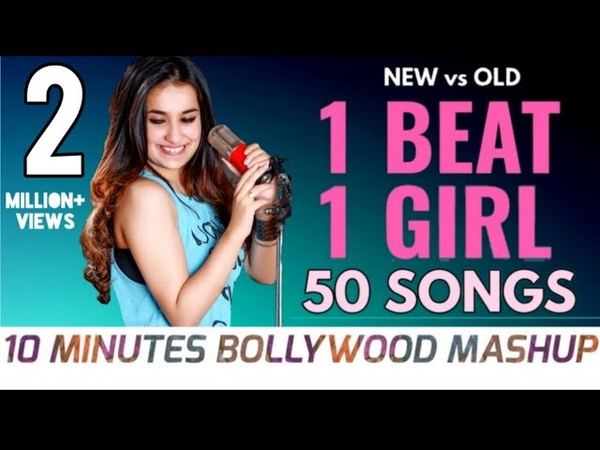 50 Songs in 10 minutes | NEW vs OLD 3 Bollywood Songs Mashup | 1 Beat Mashup | KuHu Gracia