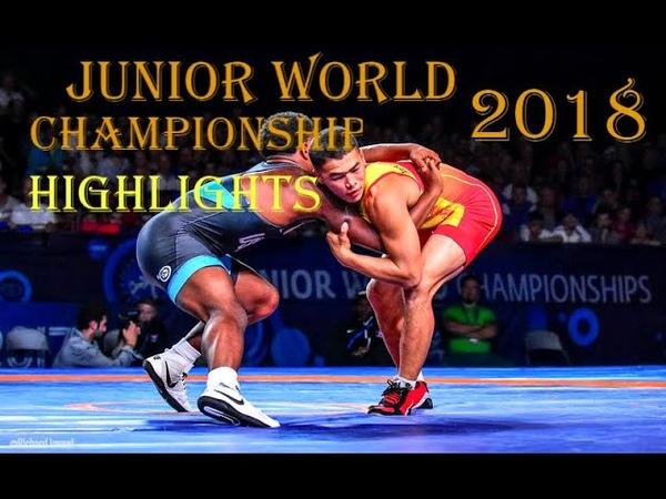 Greco-Roman wrestling highlights Juniors 2018