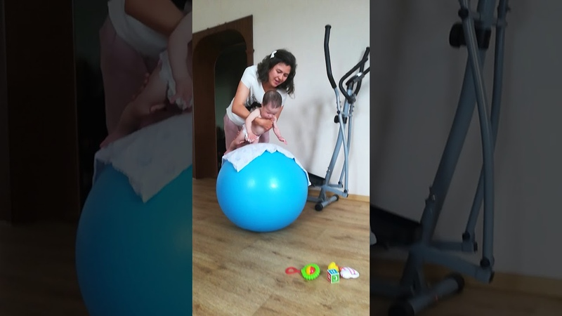 Гимнастика лфк фитбол бобат терапия 9 12 месяцев