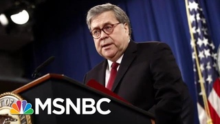 William Barr Reportedly Won't Recuse Himself From Epstein Case | The Last Word | MSNBC
