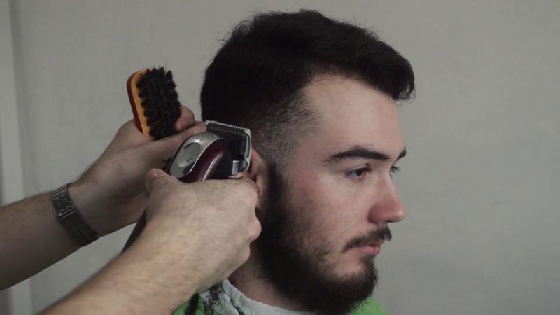 КАК СДЕЛАТЬ плавный переход. Классическая мужская стрижка. Classic men's haircut.