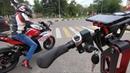 Электромотоцикл Yamaha R3 копия Первый раз на спортбайке
