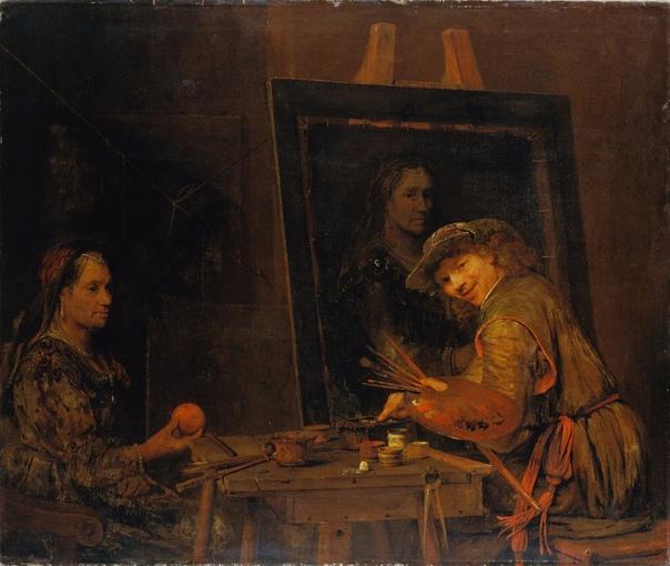 Последний ученик Рембрандта, Арент де Гелдер (26 октября 1645 г.  27 августа 1727 г.)