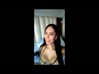 She is a super good t-girl prostitute doing her job with clients