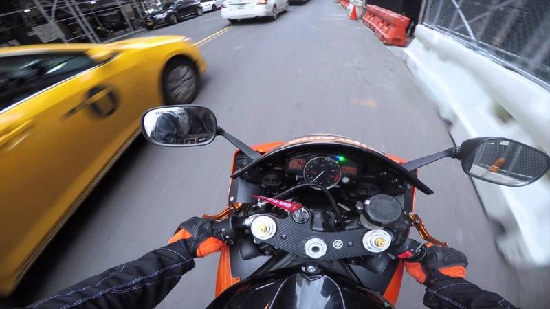 Motorcycle Ride Through Brooklyn BQE/Brooklyn Bridge