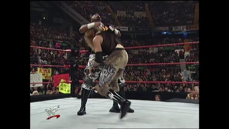 WWF Raw Is War 31 01 2000 Christian vs D Von Dudley