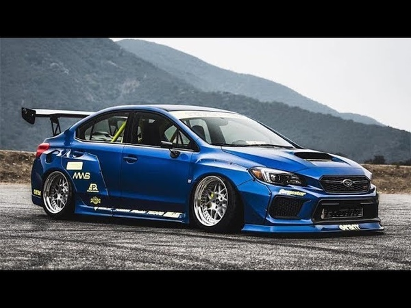Course avec la Subaru dans la campagne Forza Horizon 4