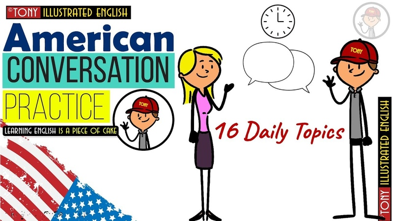 American Conversation (Idioms, Slang, Phrases) for improving Speaking Listening Skills