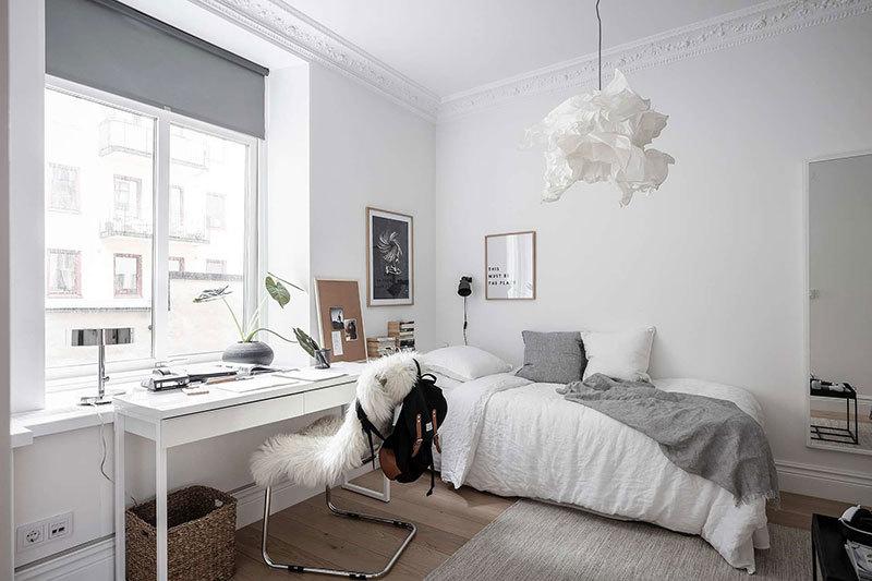 Безупречная белизна и легкость в интерьере скандинавской квартиры || 02