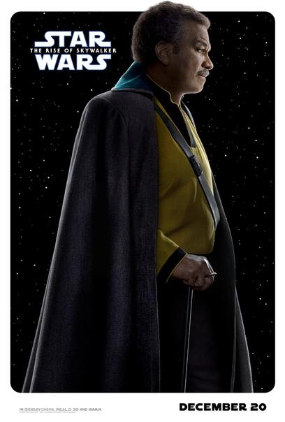 Центральные персонажи финального эпизода новой трилогии «Звездных войн» на свежих постерах