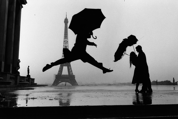 «Прыжок с зонтиком» (Париж, 1989 год)
