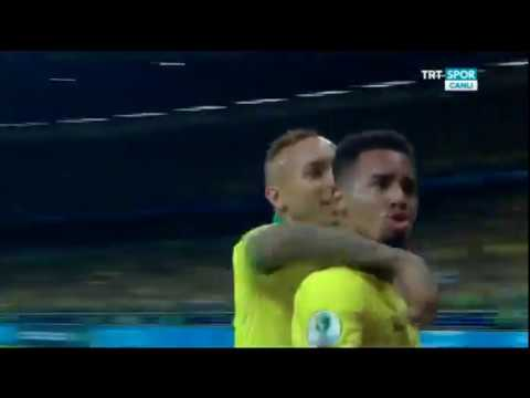 Бразилия 2 0 Аргентина Brazil 2 0 Argentina обзор матча Кубок Америки 2019 1 2 Финала