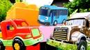 Игрушки для детей видео про машинки помощники и постройку гаража!