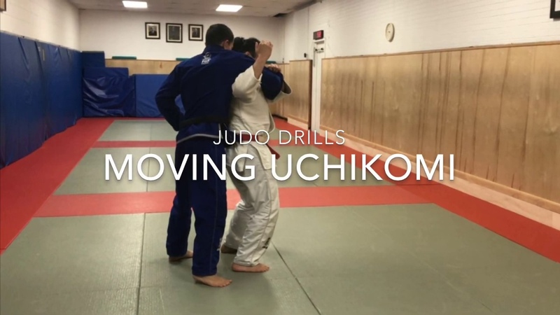 Judo drills: Moving uchikomi