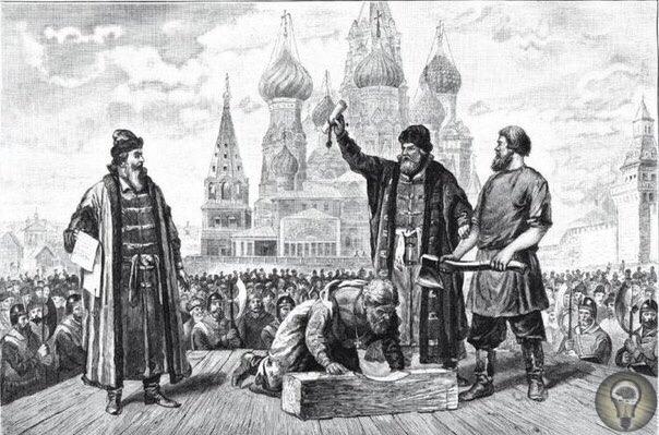 Как на Руси выбирали палачей