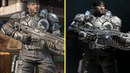 Gears 5 vs Gears of War 4 Returning Characters Models Comparison