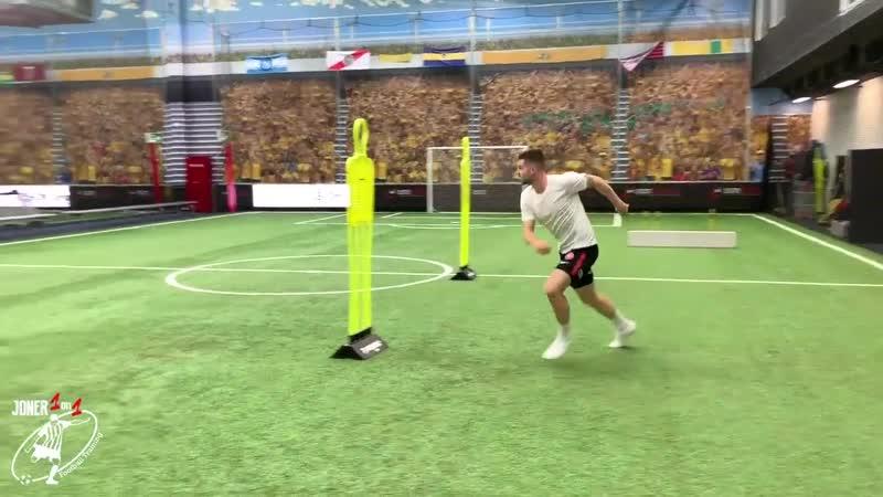2 FULL Professional Training Sessions Brendan Hamill Joner 1on1 Football Training Обрезка 03