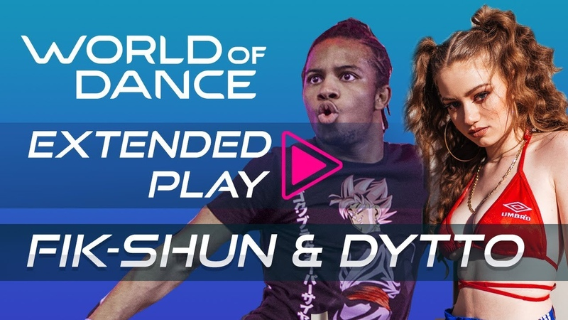 Fik-Shun and Dytto I World of Dance Extended Play