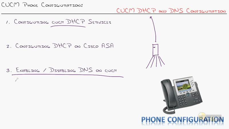 15 - CUCM Phone Configuration DHCP and DNS Services
