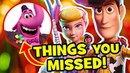 56 Easter Eggs You Missed In TOY STORY 4