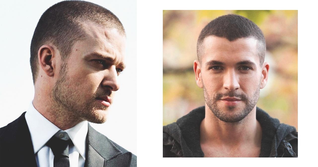 Популярная стрижка на короткие и редкие и волосы для мужчин 2019-2020